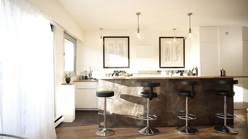 sur le pont architecte paris 18 me bardin architecte architecture int rieur paris. Black Bedroom Furniture Sets. Home Design Ideas