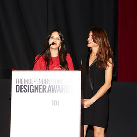IX Independent Handbag Designer Awards speech - carlalopez